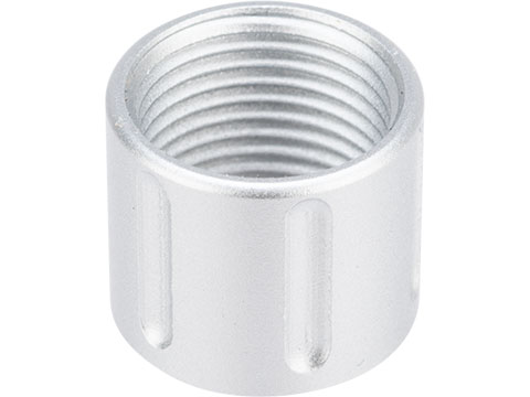 6mmProShop CNC Machined Aluminum 14mm Negative Thread Protector (Type: Type A / Silver)