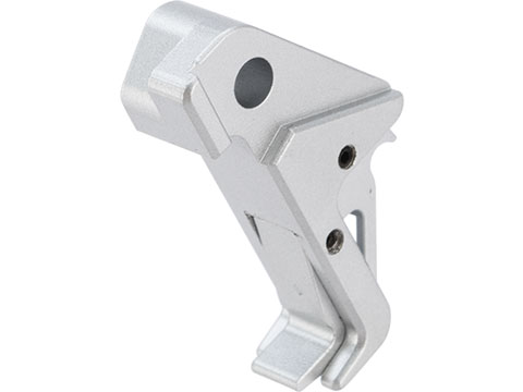 6mmProShop CNC Dynamic Trigger 1.0 for Elite Force GLOCK Series Airsoft Pistols (Color: Silver)