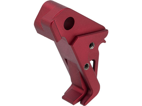 6mmProShop CNC Dynamic Trigger 1.0 for Elite Force GLOCK Series Airsoft Pistols (Color: Red)