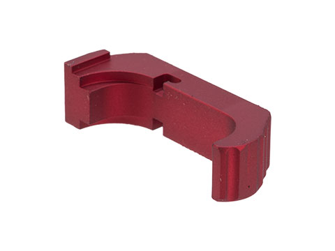 6mmProShop Dynamic Magazine Catch for Elite Force GLOCK Series Airsoft Pistols (Color: Red)
