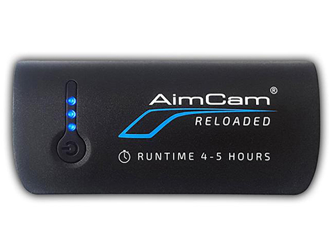 AimCam Reloaded Powerpack 4000mAh Power Bank for AimCam Action Cameras