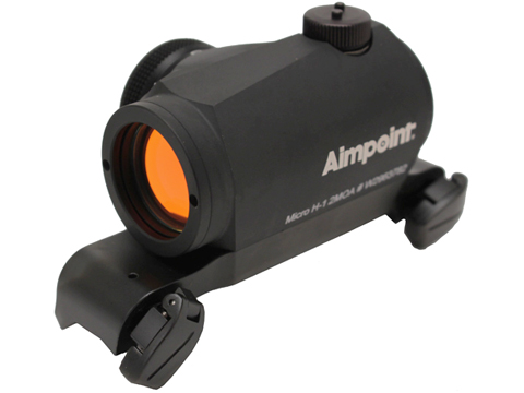 Aimpoint Micro H-1 2 MOA Red Dot Sight w/ Blaser Rifle Mount