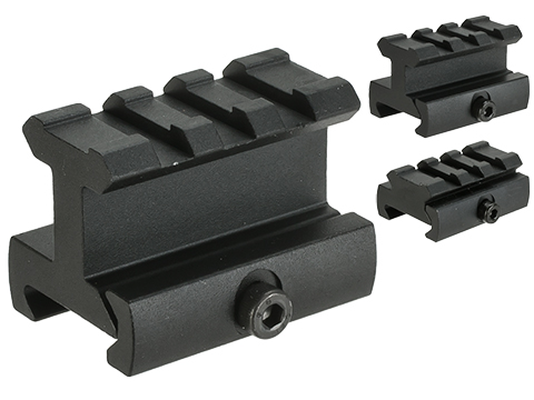 AIM Sports Riser Mount for 20mm Rails (Type: 3/4 Medium Profile)