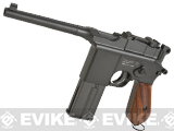 KWC M712 Broomhandle Full-Auto CO2 Gas 4.5mm / .177 Full Metal Air Gun Pistol