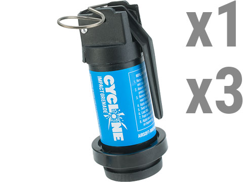 Airsoft Innovations Cyclone Gas Powered Airsoft Frag Grenade - Impact (Number: Single Grenade)