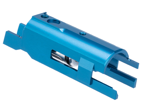 Airsoft Masterpiece EDGE Aluminum Blow Back Housing for Hi-CAPA Gas Airsoft Pistols (Color: Blue)