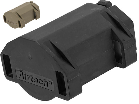 Airtech Studios BEUTM Battery Extension Unit for AM-013/AM-014/AM-015 Series Amoeba Airsoft AEGs (Color: Black)