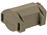 Airtech Studios BEUTM Battery Extension Unit for AM-013/AM-014/AM-015 Series Amoeba Airsoft AEGs (Color: Dark Earth)