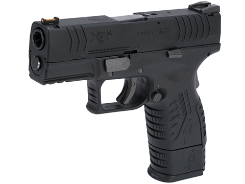 Springfield Armory Licensed XDM .177 Cal CO2 Blowback Air Pistol (Model: 3.8 Compact / Black)