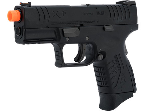 Springfield Armory Licensed XDM Gas Blowback Airsoft Training Pistol (Model: 3.8 Compact / Black)
