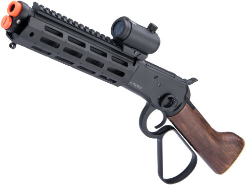 A&K M1873R M-LOK Lever Action Airsoft Gas Rifle