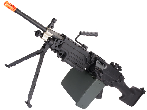 A&K / Cybergun FN Licensed M249 SAW Machine Gun w/ Metal Receiver (Model: MK-II)