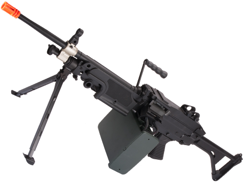 A&K / Cybergun FN Licensed M249 SAW Machine Gun w/ Metal Receiver (Model: MK-I)