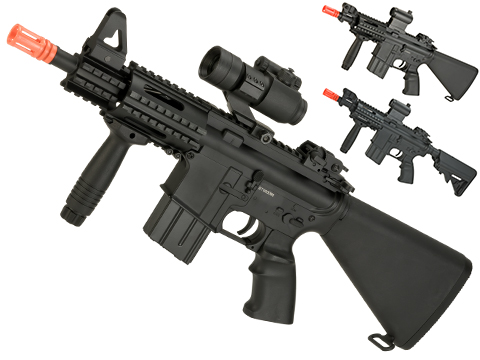 A&K NS15 Full Metal Lipo Ready M4 CQB Stubby Killer Airsoft AEG Rifle