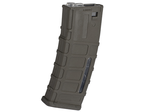 A&K 300rd ACR Type Hi-Cap Magazine for M4/M16 Series Airsoft AEG Rifles (Color: Dark Earth)