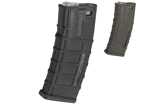 A&K 300rd ACR Type Hi-Cap Magazine for M4/M16 Series Airsoft AEG Rifles (Color: Black)
