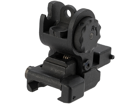 A&K SPR Type Mod 0 / 1 Folding Rear Sight for Airsoft AEG Rifles