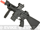 A&K NS15 Full Metal Lipo Ready M4 CQB Stubby Killer Airsoft AEG Rifle (Model: Bravo)