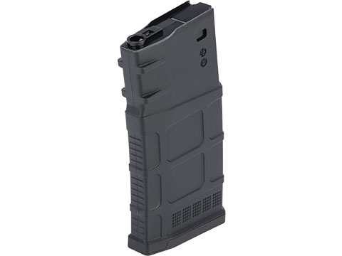 A&K 470rd Polymer Flash Mag SR-25 Airsoft AEG Magazine (Color: Black)