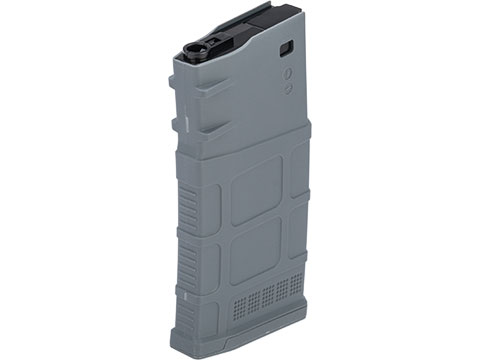 Avengers Polymer Magazine for SR-25 Series Airsoft AEG Rifles (Color: Grey / 470rd Hi-Cap)