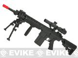 A&K Full Metal NS15 SR-25K Airsoft AEG Rifle w/ Crane Stock