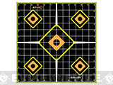 Allen Company EZ Aim Splash Adhesive Grid Target - Pack of 5