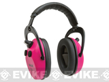 Allen Company Axion Electronic Shooting Ear Protection - Orchid