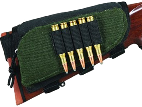 Allen Company Adjustable Padded Rifle Buttstock Pouch w/ Cartridge Holder