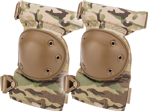 Alta Industries AltaCONTOUR Tactical Knee Pads with Flexible Caps (Color: Multicam)