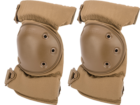 Alta Industries AltaCONTOUR Tactical Knee Pads with Flexible Caps (Color: Coyote)