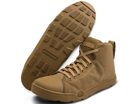 Altama OTB Maritime Mid-Length Assault Boots - Single Color (Color: Coyote / 7)