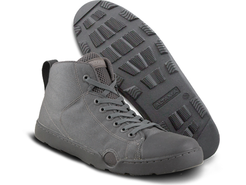 Altama OTB Maritime Mid-Length Assault Boots - Single Color (Color: Grey / 8)