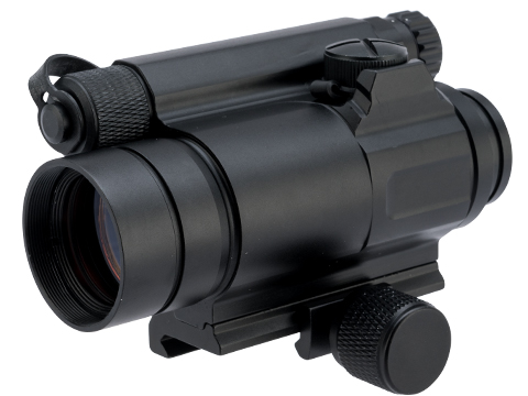 G&P M4 Type Red Dot Sight w/ 20mm Weaver QD Mount Base for Airsoft