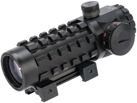 Phantom Gear 3x28 Illuminated Scope with 20mm Accessory Mounts