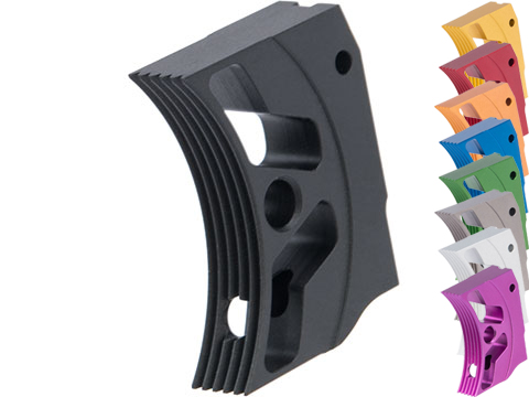 Airsoft Masterpiece EDGE Aluminum Trigger for Hi-CAPA / 1911 Gas Blowback Airsoft Pistols - Type 3