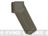 ARES Amoeba Airsoft Type-3 Low Profile Motor Grip for M4/m16 Airsoft AEG Rifles (Color: Dark Earth)