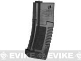 ARES Amoeba 140rd High Grade Mid-Cap Magazine for M4/M16 Series Airsoft AEG Rifles (Color: Black/Single Magazine)