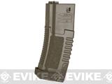 ARES Amoeba 140rd High Grade Mid-Cap Magazine for M4/M16 Series Airsoft AEG Rifles (Color: Dark Earth / Single Magazine)