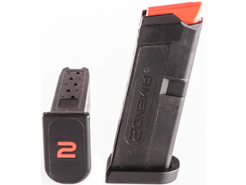 Amend2 380 Auto 6 Round Magazine for GLOCK 42 (Color: Black)