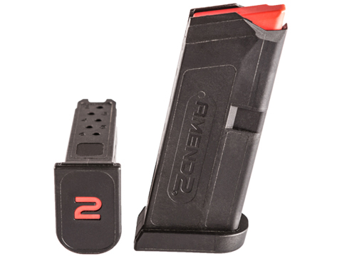 Amend2 GLOCK 43 9mm 6 Round Magazine (Color: Black)