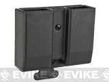 z Blade-Tech Revolution DMP Double Stack 9 / 40 Dual Mag Pouch - Small TMMS (Black)