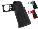 Airsoft Masterpiece Skater Terrain Custom Grip for Hi-Capa Airsoft Pistols (Color: Red)