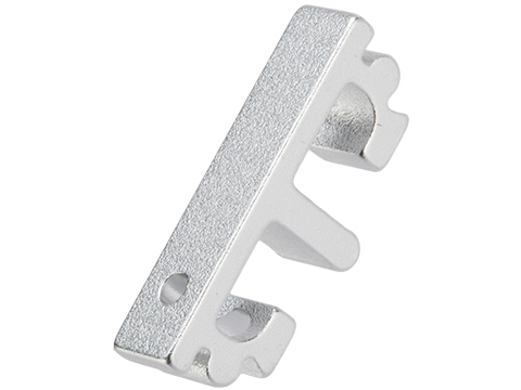 Airsoft Masterpiece Aluminum Puzzle Trigger - Flat Short (Color: Silver)