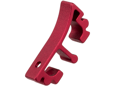 Airsoft Masterpiece Aluminum Puzzle Trigger - Enos (Color: Red)