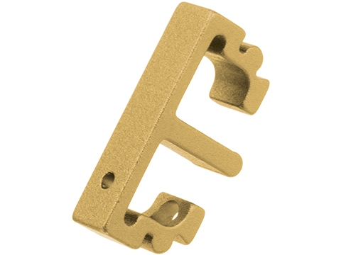 Airsoft Masterpiece Aluminum Puzzle Trigger - Flat Long (Color: Gold)