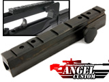 Angel Custom CNC QD Scope Mount Base for Tokyo Marui & Comp. Famas Series Airsoft AEG