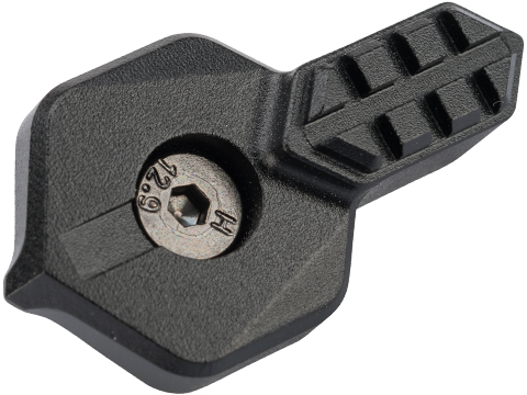 Angel Custom HEX CNC Selector Switch for M4/M16 Series Airsoft AEGs (Color: Black / Left)
