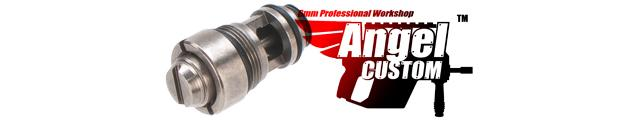 Angel Custom PTFE SUS303 Stainless Steel Hi-Flow Valve for TM / WE Hi-CAPA & 1911 Series Airsoft GBB Pistols