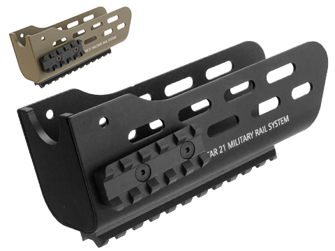 Angry Gun CNC Metal Military Rail System and Handguard for Tavor 21 Airsoft AEG Rifles