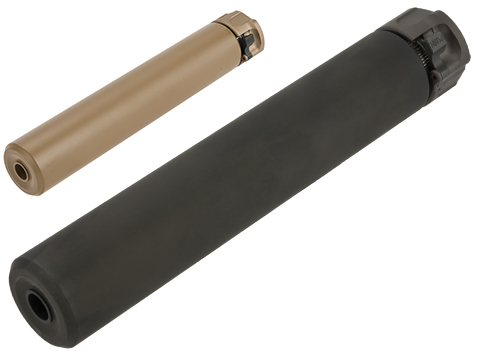 Angry Gun 8.5 SOCOM 762 Mock Suppressor with Flash Hider for Airsoft Rifles